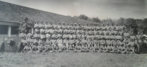 33rd Indian Mountain Regiment, Royal Indian Artillery - The regiment photographed in Tanjung Rambutan in 1945.