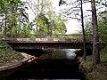 3543. Bolshaya Izhora. Bridges across the Chyornaya River.jpg