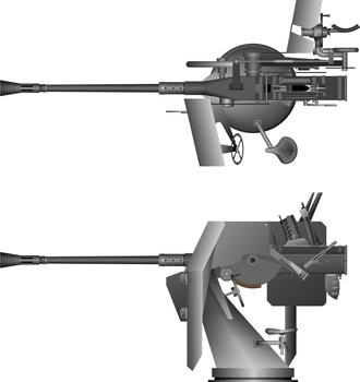 German submarine U-249 - Image: 37 mm Flak M42 LM43U