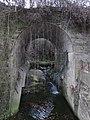 387 Pont del ferrocarril sobre el torrent del Poquí (Manlleu).jpg
