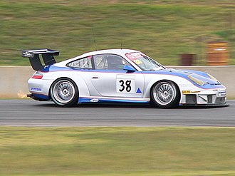 David Wall (racing driver) - David Wall (Porsche 911 GT3 RSR Type 996) contesting the Mallala round of the 2006 Australian GT Championship