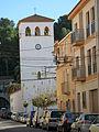 541 Campanar de Sant Jaume de Remolins (Tortosa), des del c. Jaume Tió i Noé.JPG