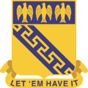 59th Infantry Regiment (United States) - Image: 59 Inf Rgt DUI