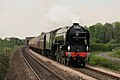 60163 Tornado Private Charter Cathedrals Express Top Gear Race 25 April 2009 Newcastle pic 8 digitally altered.jpg