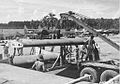 6th Night Fighter Squadron P-61 being assembled at Guadalcanal.jpg