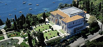 Villa Ephrussi de Rothschild - Villa Ephrussi de Rothschild, and gardens
