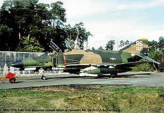 86th Airlift Wing - McDonnell Douglas F-4E-41-MC Phantom AF Serial No. 68-0527, 86th TFW 527th TFS