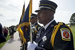 9-11 ceremony at Fort McHenry 140911-N-WX580-017.jpg