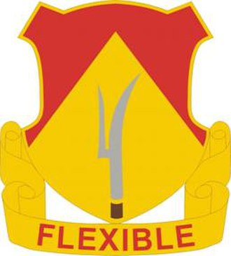 94th Field Artillery Regiment - Image: 94 FA Rgt DUI