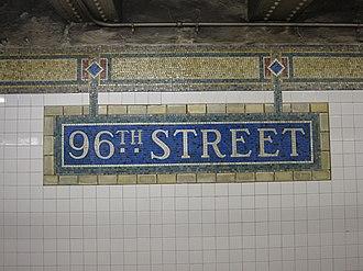 96th Street (IRT Lexington Avenue Line) - Image: 96th Street IRT 003