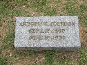 A. R. Johnson - Johnson grave at Springville Cemetery in Coushatta, Louisiana