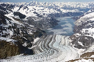 Glacier Bay National Park and Preserve - Johns Hopkins Glacier