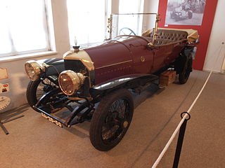 Spanish car manufacturer between 1912 and 1923