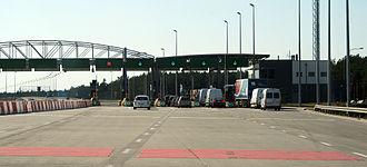 A2 autostrada (Poland) - Tarnawa toll plaza