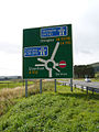 A702 - M74 and A74(M) Road sign - geograph.org.uk - 74688.jpg