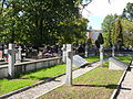 AK soldiers quarter at Wawrzyszew cemetery (Starża company) 01.JPG