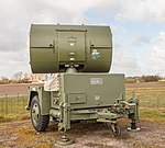AN MPQ-55 HAWK Continuous Wave Acquisition Radar, Stevnsfort Cold War Museum, Denmark, 2015-04-01-4826.jpg