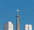 AT-50321 Top of the tower of St. Stephan, Vienna - seen from Heldenplatz -hu- 6170.jpg