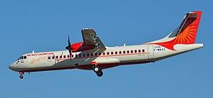 Bhavnagar Airport - Image: ATR.72 600 AIR INDIA EXPRESS F WWEZ 1226 TO VT AIT 10 02 15 TLS (16869587331)