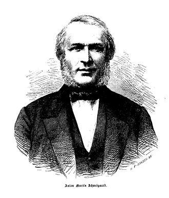 Anton Martin Schweigaard - A. M. Schweigaard