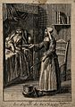 A Nun (Sister of Charity) feeding a sick patient. Line engra Wellcome V0015215ER.jpg
