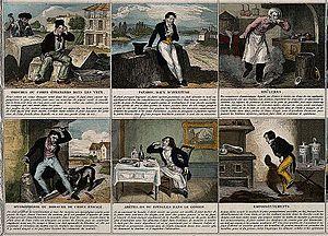 A broadsheet illustrating 24 maladies and giving remedies. C Wellcome V0010546.jpg