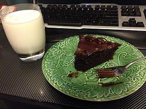 Joffre cake - Image: A part of Joffre