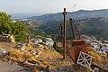 A ropeway conveyor near Frigiliana, 29.07.2015.jpg