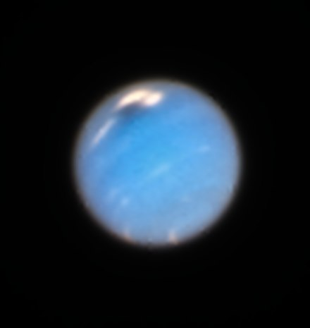 Northern Great Dark Spot is evidence of a huge storm brewing. A storm is coming Neptune.tif