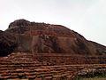 A view of Maha stupa at Bojjannakonda Monastic Ruins, Andhra Pradesh.jpg