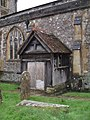 A wet and windy afternoon in the churchyard at St Nicholas (6) - geograph.org.uk - 1640760.jpg