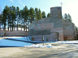 Åmot, Buskerud - Åmot Church in Modum