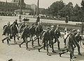 Aankomst van een detachement hospitaal soldaten van de Militaire Geneeskundige D – F40342 – KNBLO.jpg
