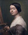 Aasta Hansteen 1844 selvportræt.png