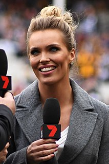 Abbey Holmes Australian rules footballer