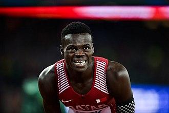 Abdalelah Haroun - Haroun at the 2017 World Championships