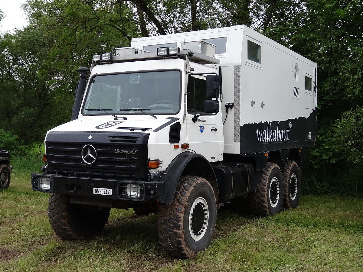 Mercedes Unimog For Sale >> List of recreational vehicles - Wikipedia