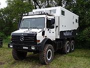 Abenteuer Allrad 2013 - Unimog 437 U4000 6x6 RV Unicat MD52h