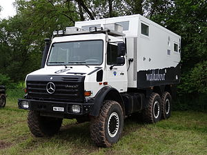 Unimog - Unimog U4000 (Type 437.4) based 6x6 expedition vehicle