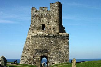 Aberystwyth Castle - Image: Aber Castle