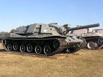 MBT-70 - MBT-70 at Aberdeen Proving Ground