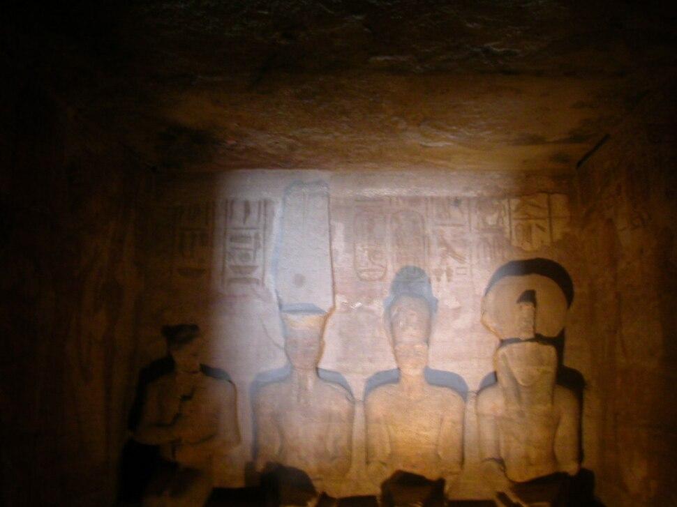 Abu Simbel - Allerheiligstes