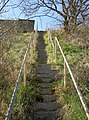 Access steps to the railway - geograph.org.uk - 1225981.jpg