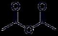 Acetic anhydride-2D-skeletal.png