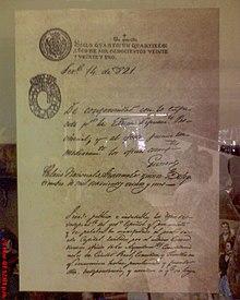Acta de Independencia de Centroamérica