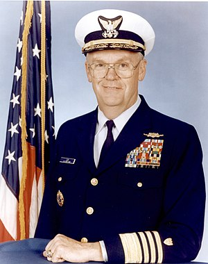 James Loy - Loy during his tenure as the Commandant of the U.S. Coast Guard.