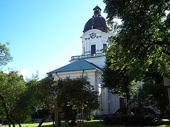 Exterior de la iglesia Adolf Fredriks kyrka
