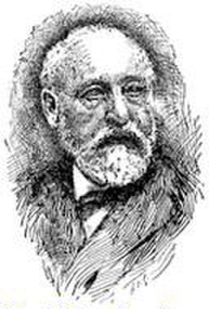 Adolf Neubauer - Portrait of Adolf Neubauer, from the 1906 Jewish Encyclopedia.