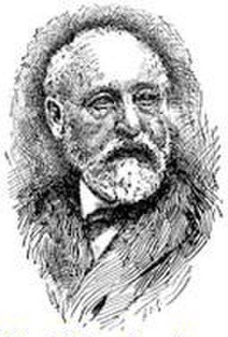 Adolf Neubauer - Portrait of Adolf Neubauer, from the 1906 Jewish Encyclopedia.