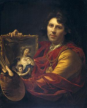 Adriaen van der Werff - Self-portrait, 1699.